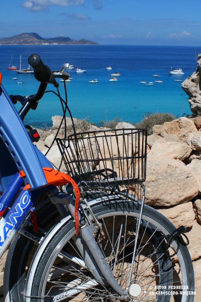 Favignana en bicicleta