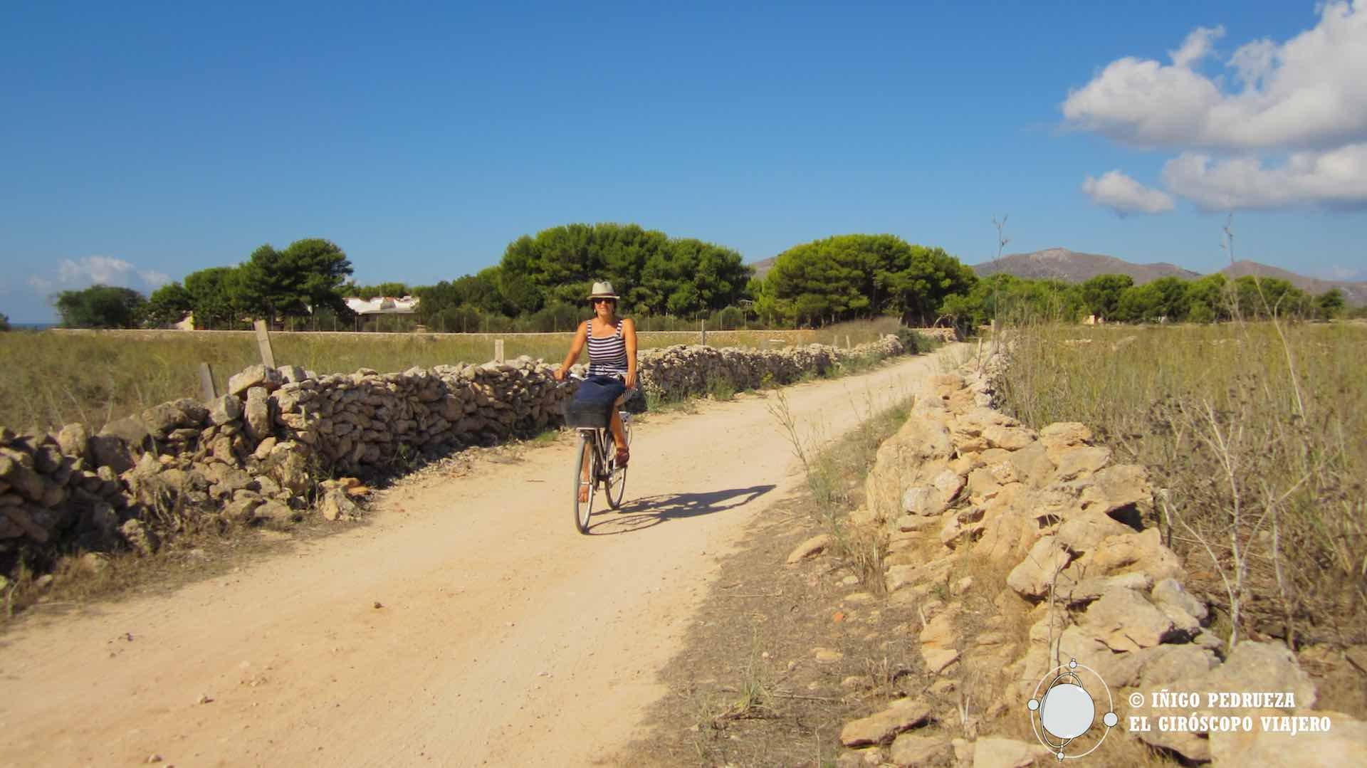 En bicicleta por la isla de Favignana