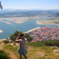 Ruta por Cantabria, las culminaciones de Buciero, Santoña