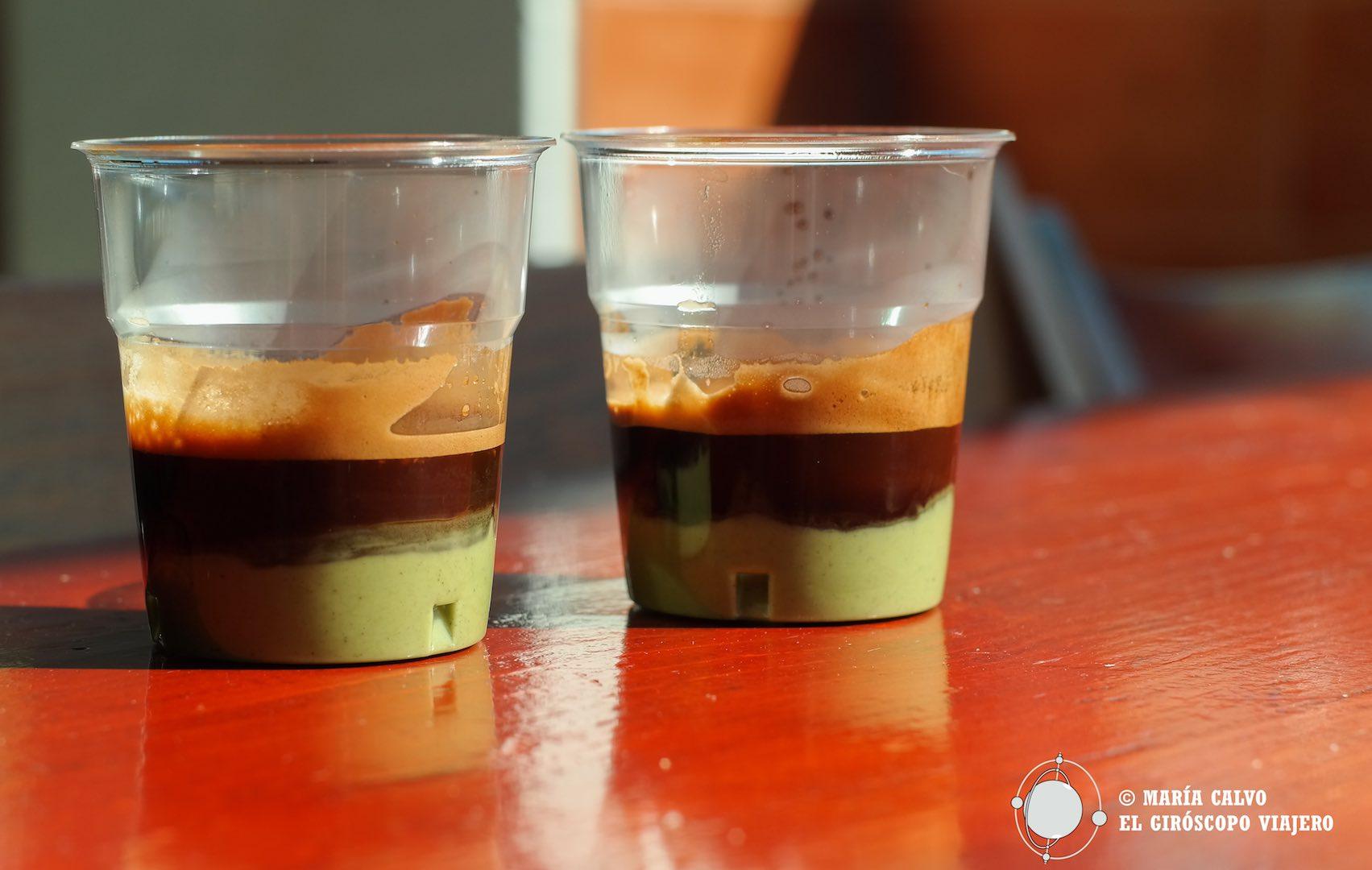 Caffès al Pistacchio, delicia de Favignana