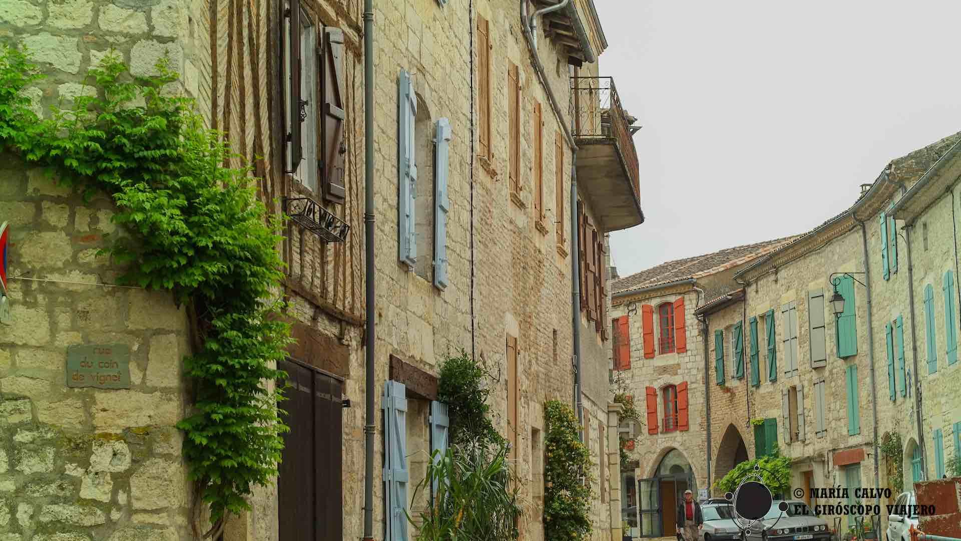 Viaje en el tiempo por las calles medievales de Lauzerte
