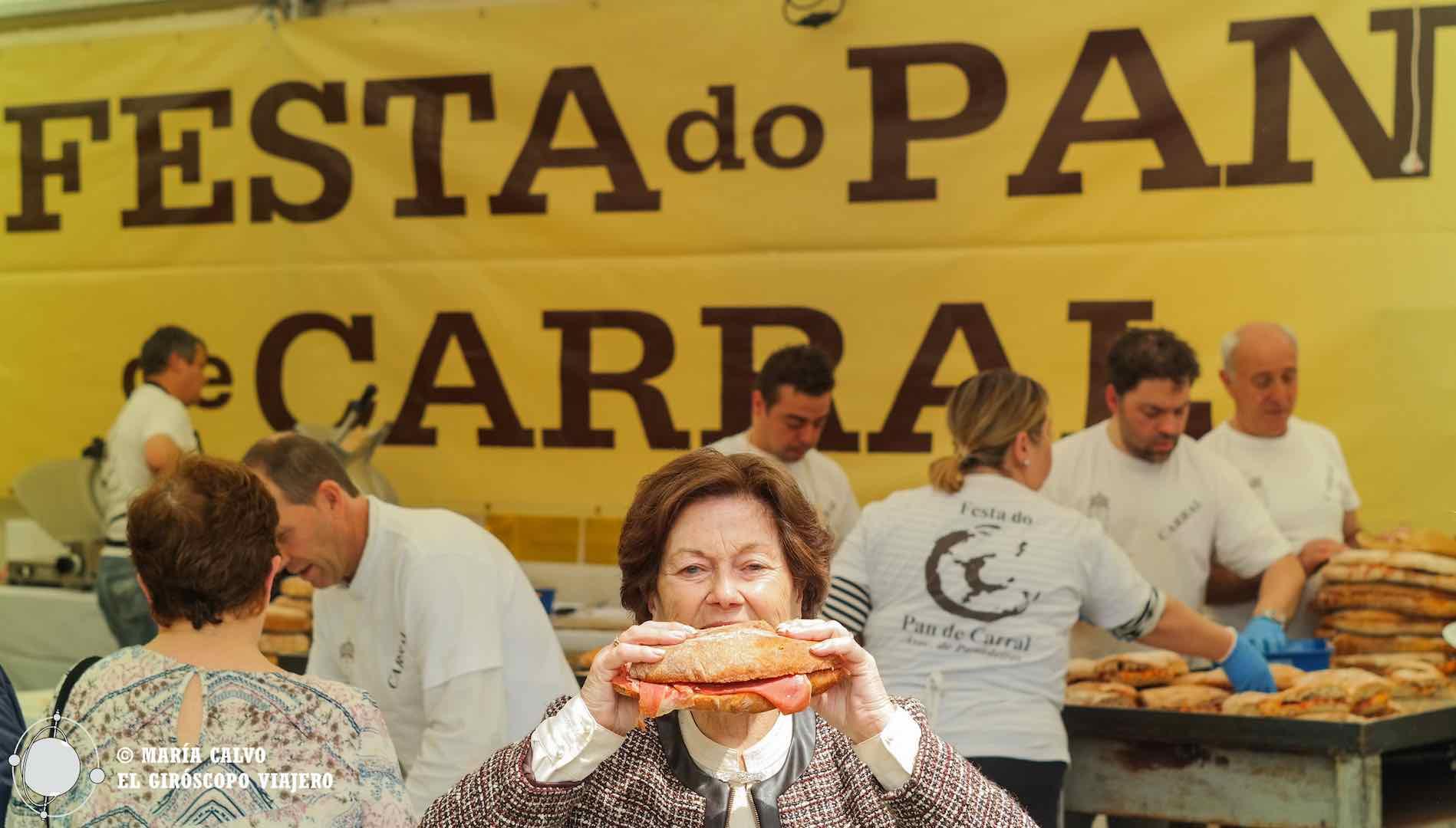 Pan de Carral, delicia gallega