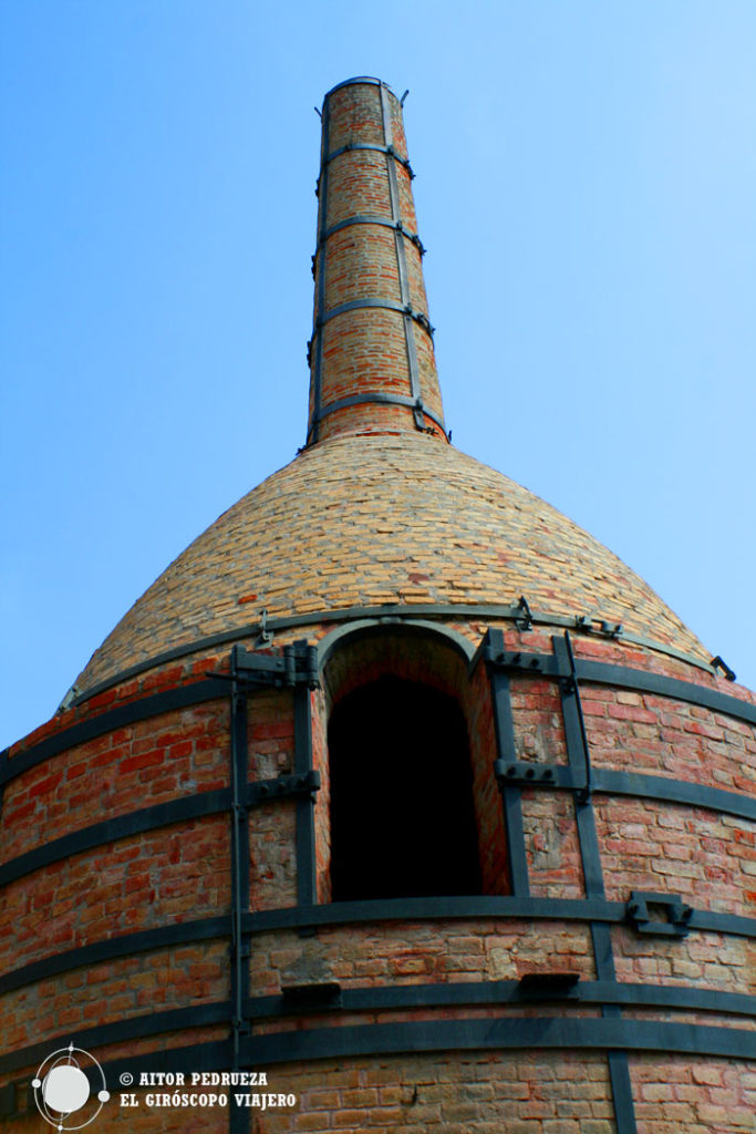 Horno de cocción de la cerámica en la Rajoleta