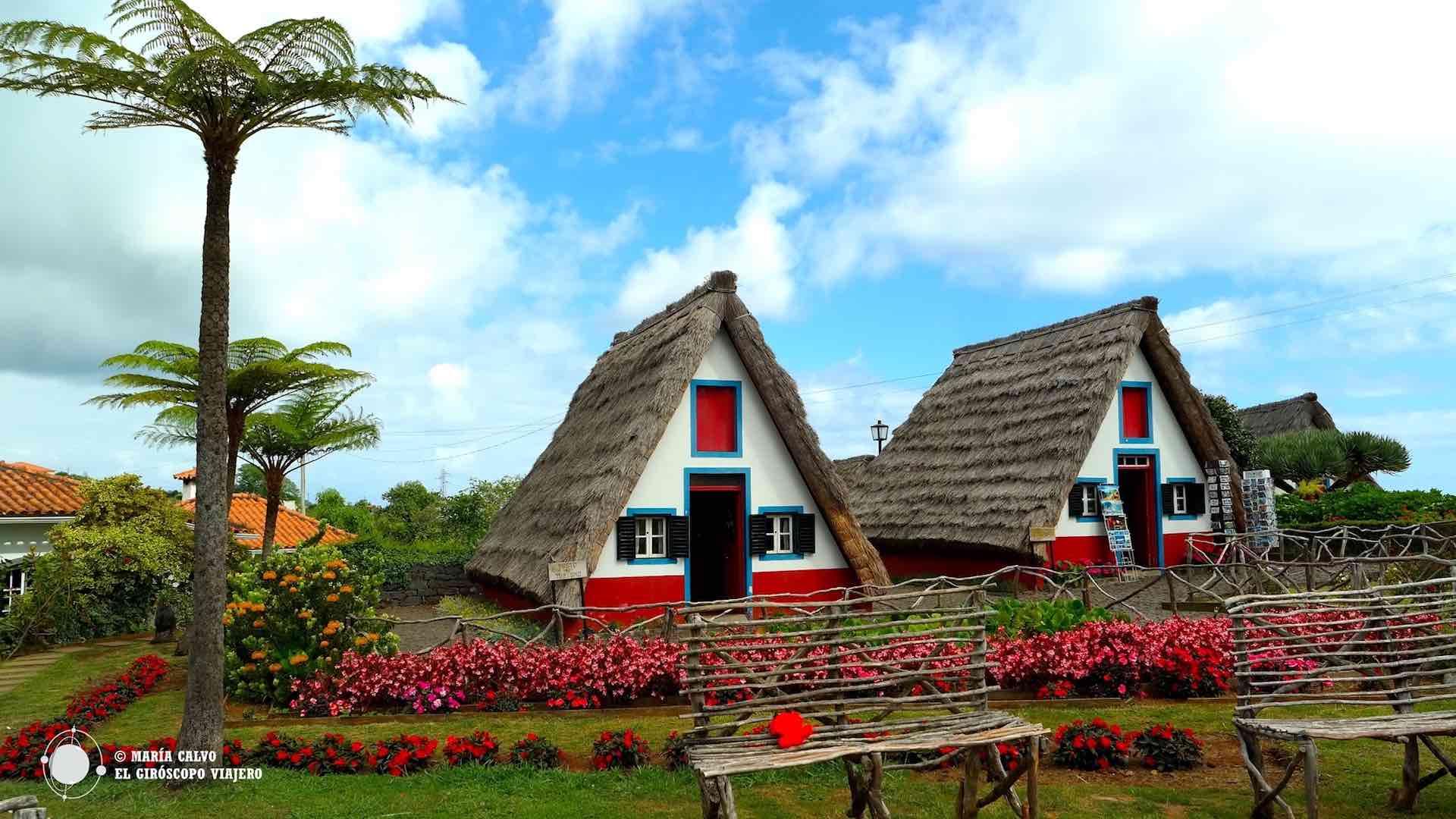 De repente, casas de cuento en la isla de Madeira