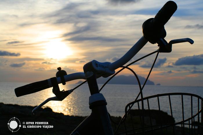 Atardecer en la isla de Favignana
