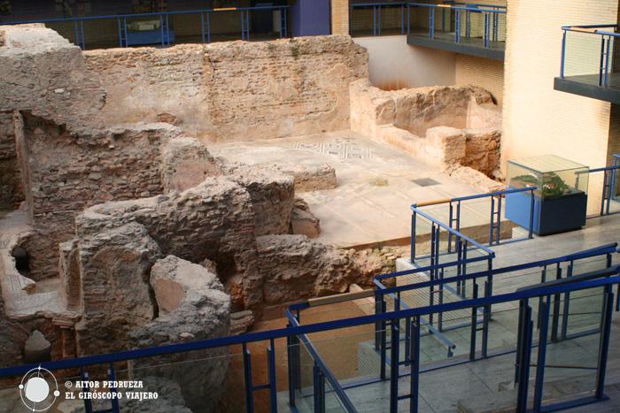 Yacimiento de las Termas romanas de Sant Boi
