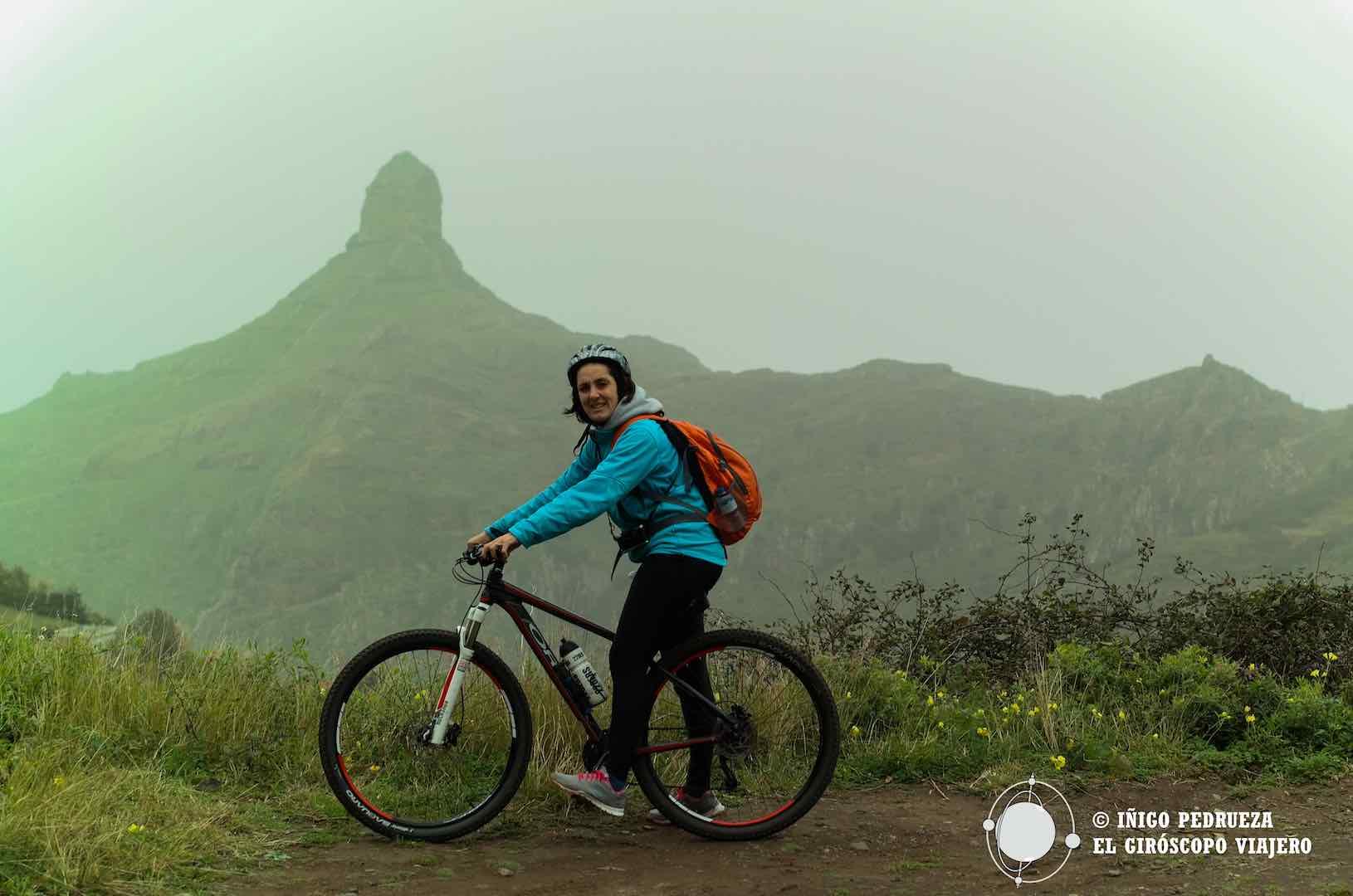 Ruta en bici por el Parque Rural de Anaga