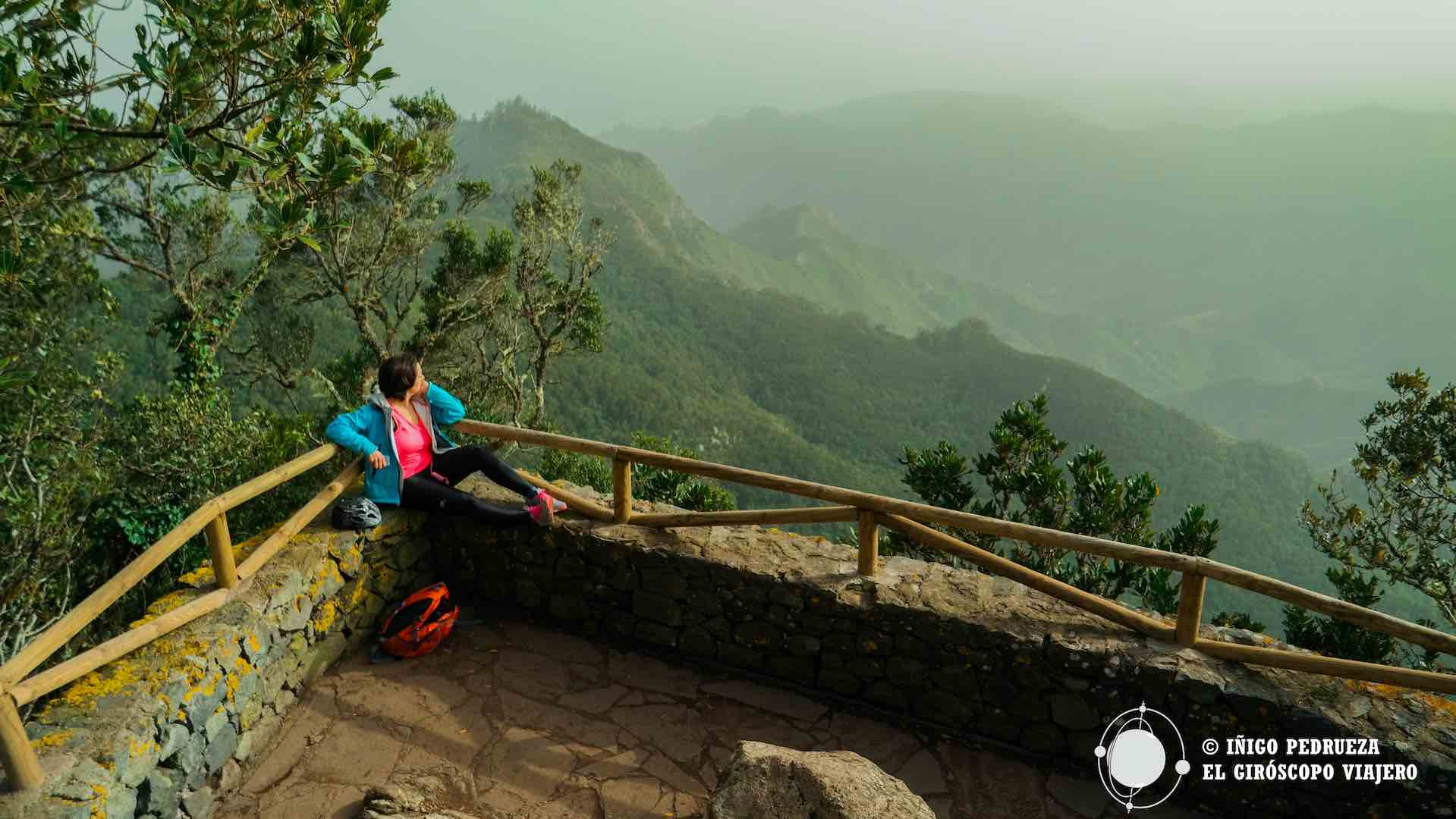 Escudriñando el misterio del Parque Anaga en el Mirador del Pico del Inglés. Final de la ruta