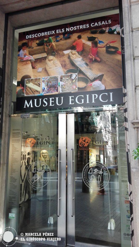 Museu Egicpi ubicado en la Rambla Catalunya