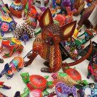 Los alebrijes de San Martín Tilcajete en Oaxaca. Ruta de Artesanías