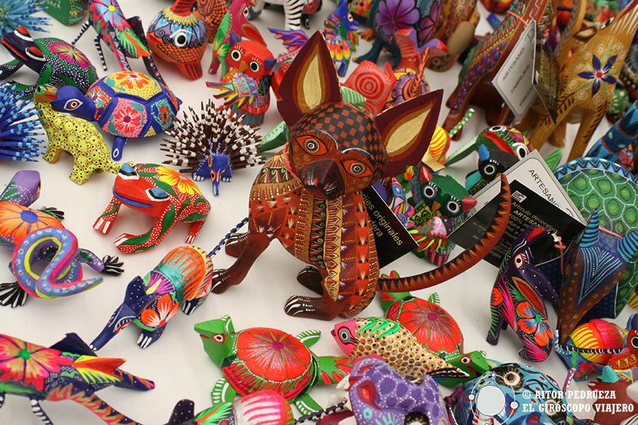 Los alebrijes de San Martín Tilcajete en Oaxaca. Ruta de Artesanías -