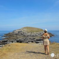 Ruta por Cantabria IV. Del Cabo Cebollero a la playa de Sonabia. Caminando por una ballena