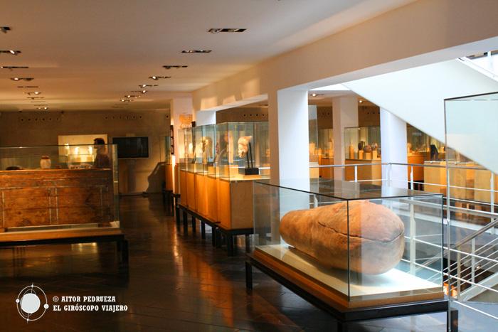 Interior del Museo Egipcio de Barcelona