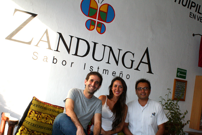 Restaurante Zandunga y la hospitalidad de Erick Santillán
