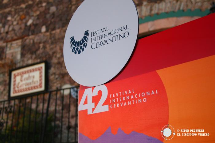 Cartel del Festival Internacional Cervantino de Guanajuato