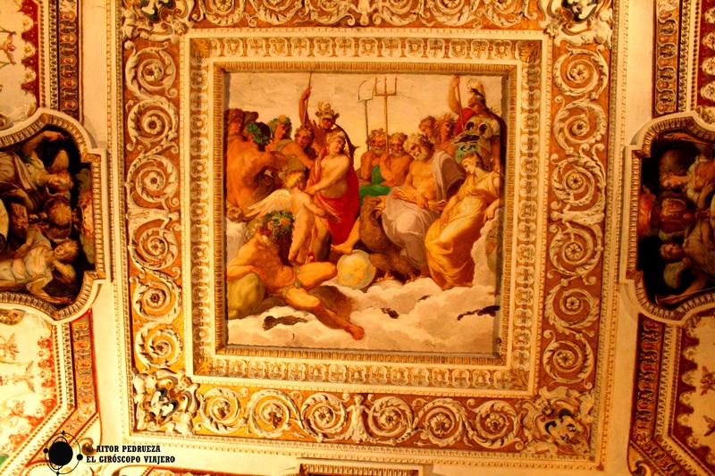 Frescos en las estancias de Villa d'Este