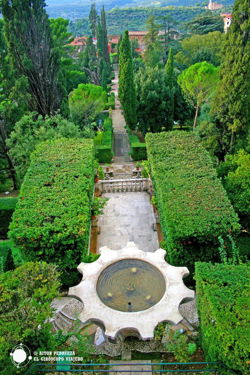 Jardines de Villa d'Este en Tivoli