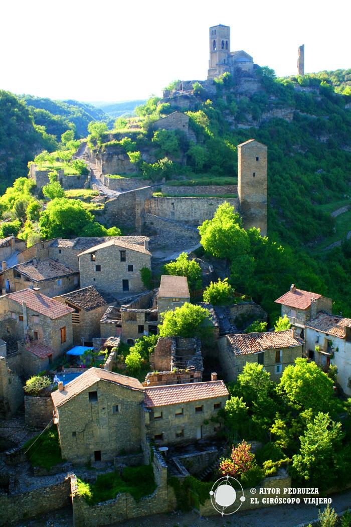 Vista del pueblo de Montañana