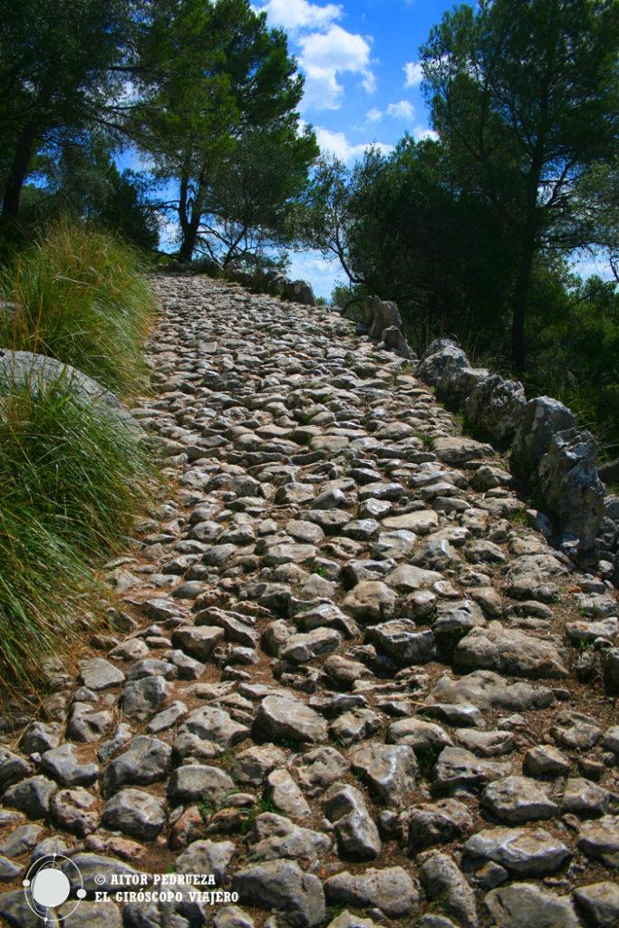 Subida al Puig de María