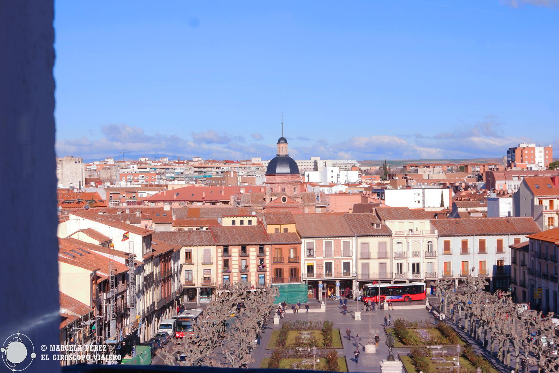 Vista de la Plaza de Cervantes desde la torre