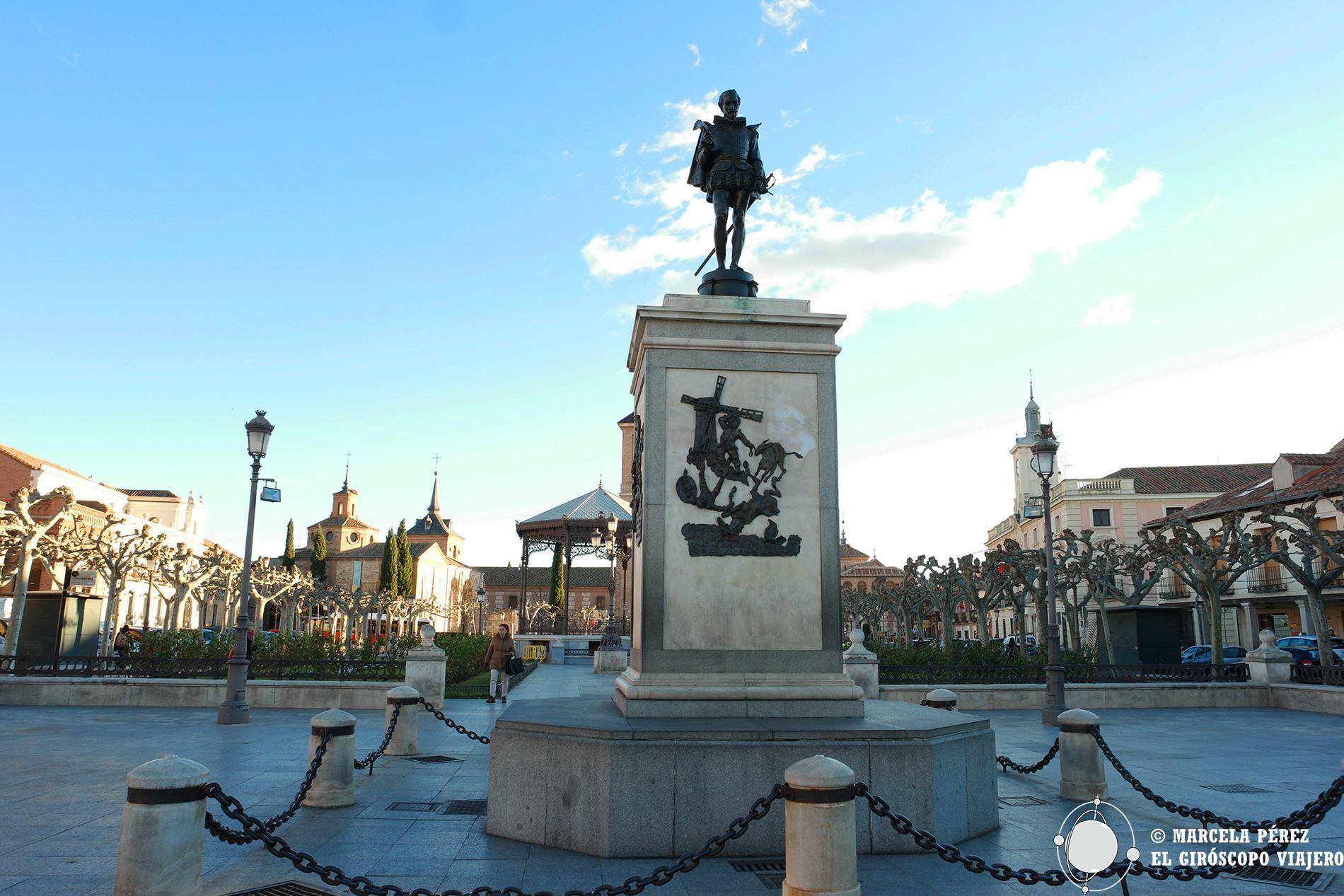 La figura de Cervantes como símbolo de Alcalá de Henares