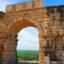 Ciudad romana de Volubilis en Marruecos