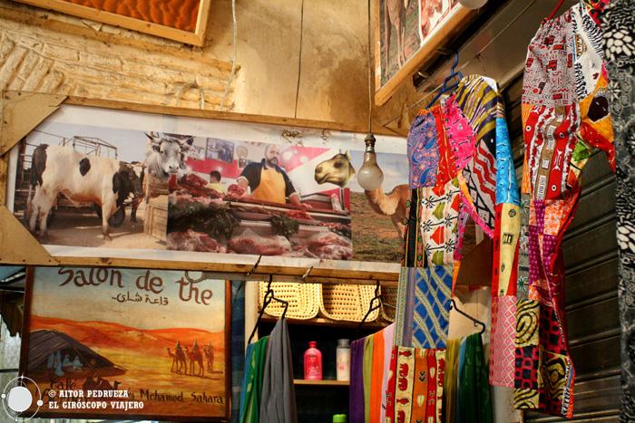Color en las calles de Fez