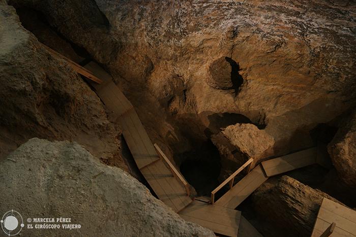 Galerías de las minas neolíticas de Gava