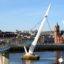 Las murallas y murales de Derry Londonderry en Irlanda del Norte