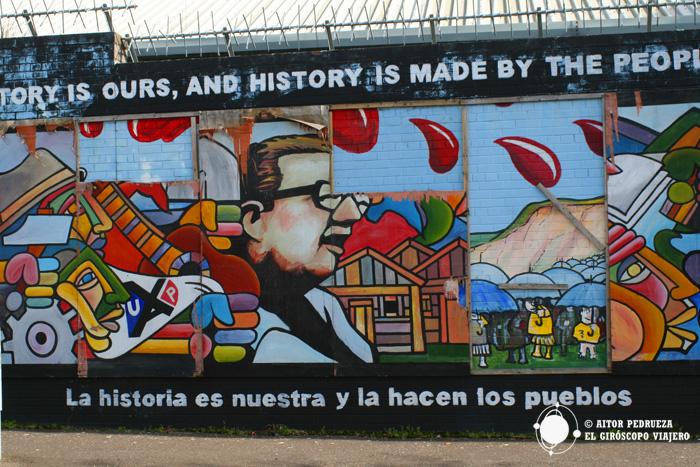 Murales por y para la paz de Belfast