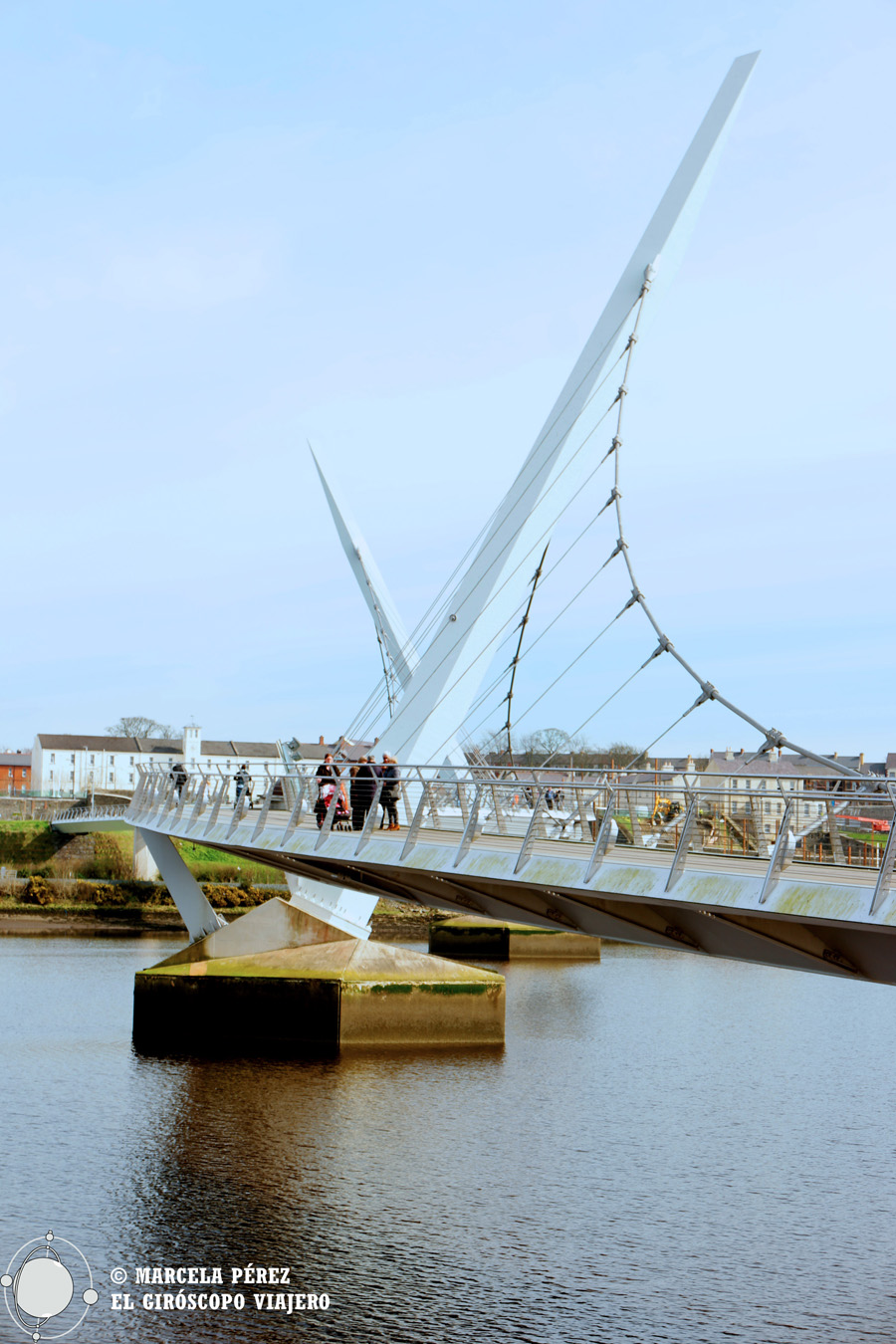 Peace Bridge. Puente de la Paz de Derry