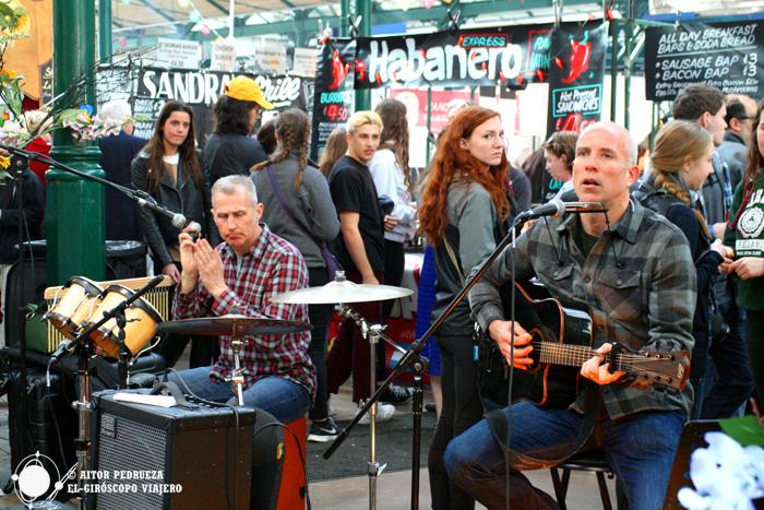 Música en St George's Market