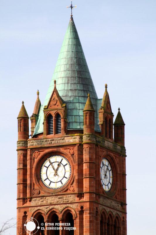 Torre del Guildhall de Londonderry