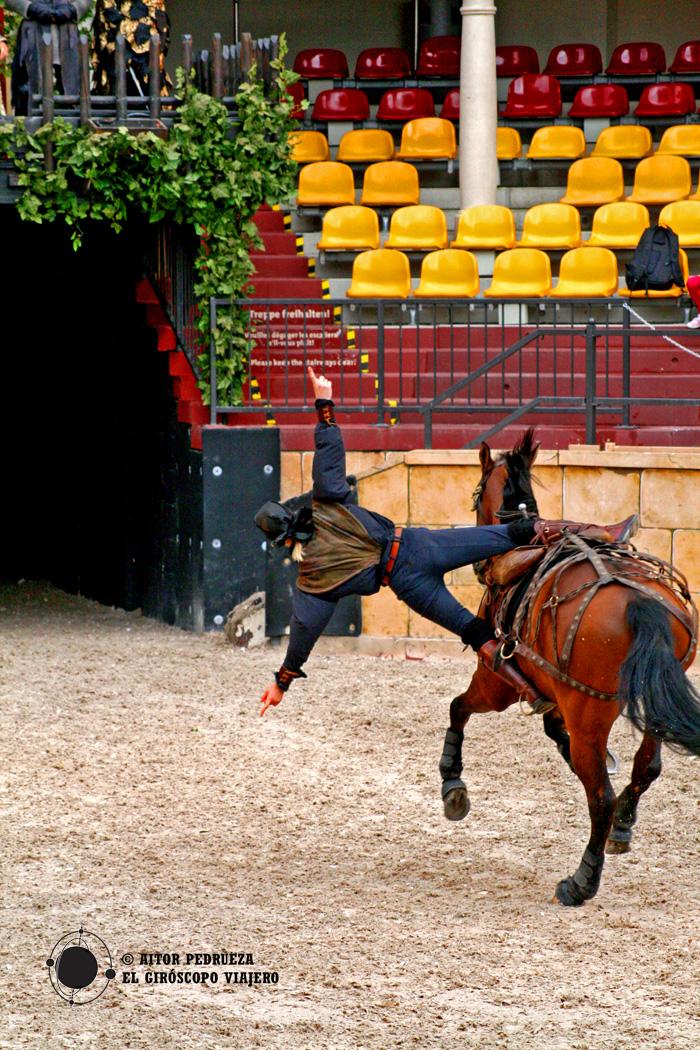 Espectáculo en el Arena de la zona de España