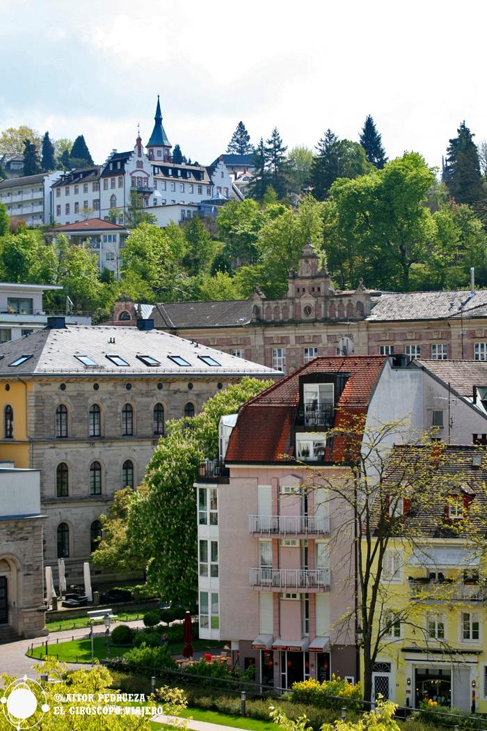 Centro histórico de Baden Baden
