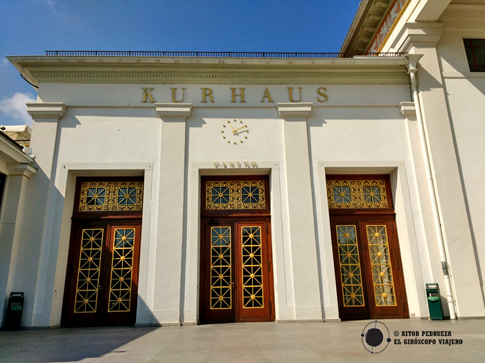 Kurhaus, sede del casino de Baden Baden