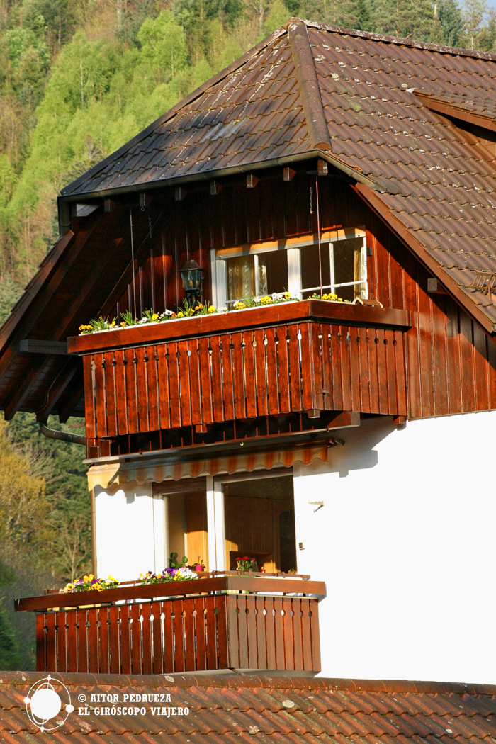 Hotel Forellenhof a las afueras de Baden Baden