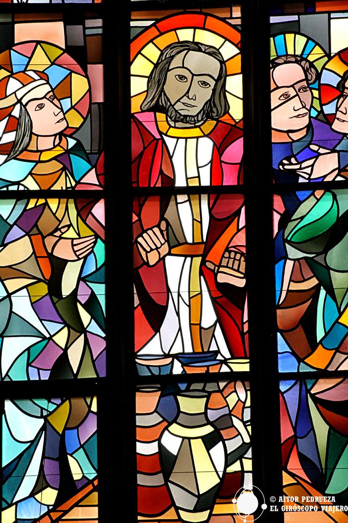 Vidriera de la Iglesia Stiftskirche