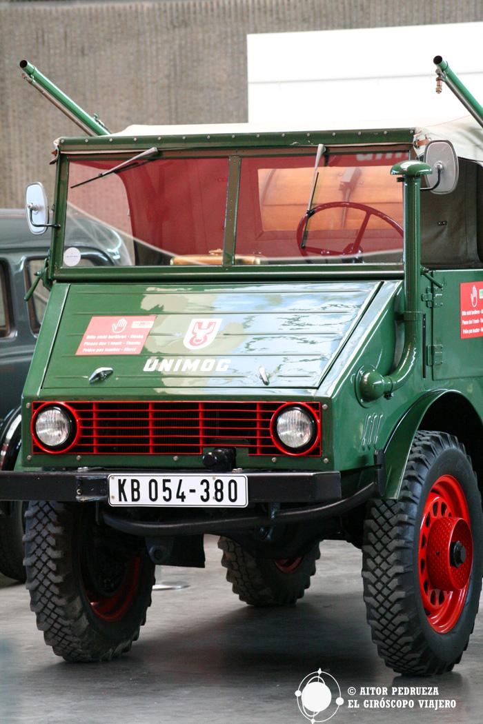 Uno de los camiones del Museo Unimog