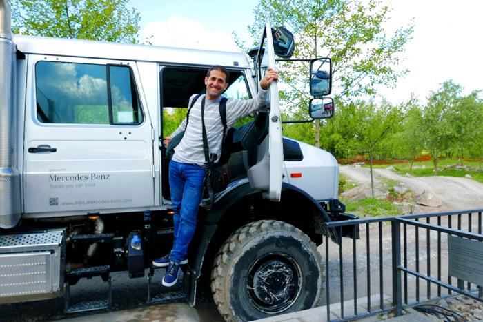 Visitando el Museo de camiones Unimog