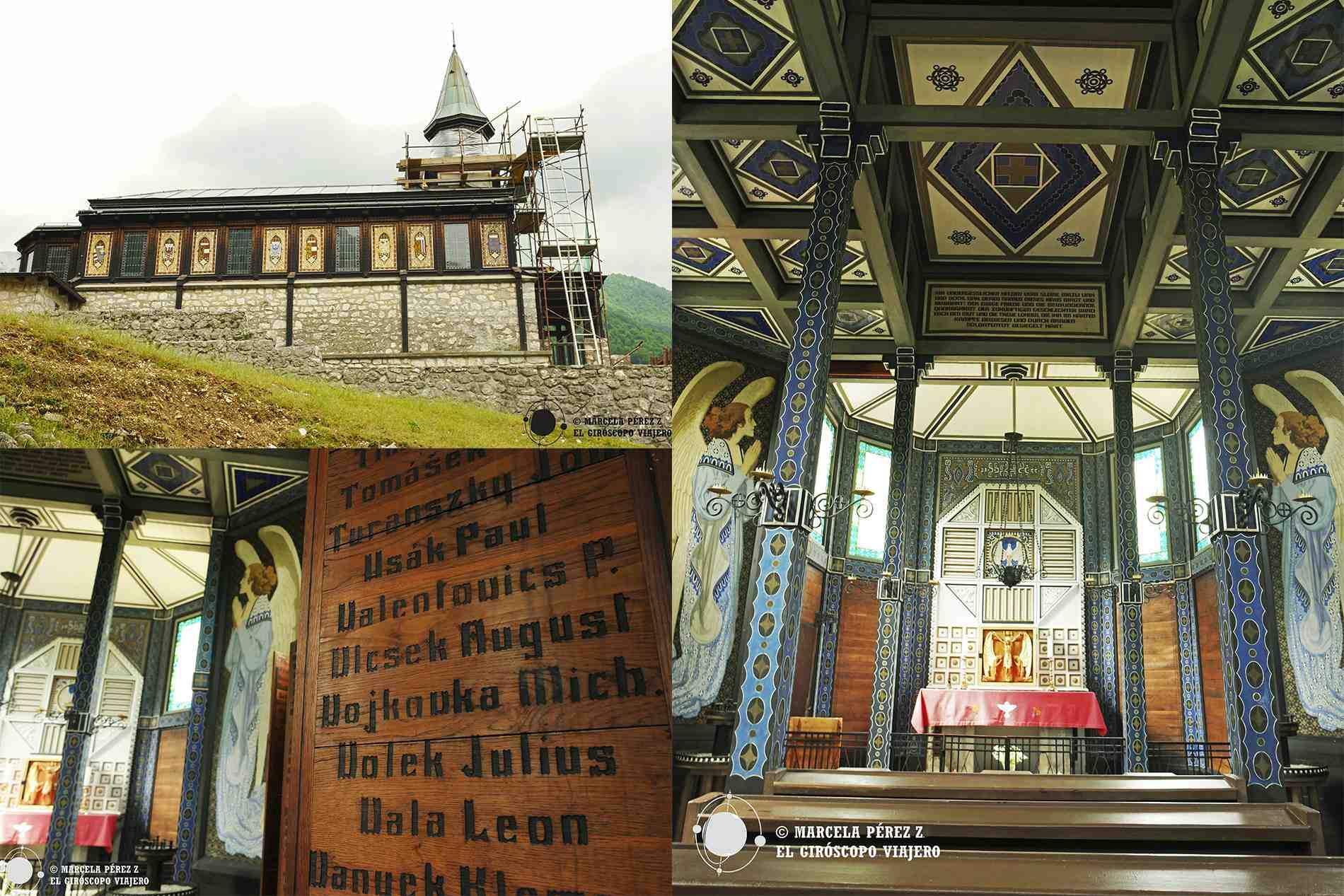 Visita a la iglesia de Javorca