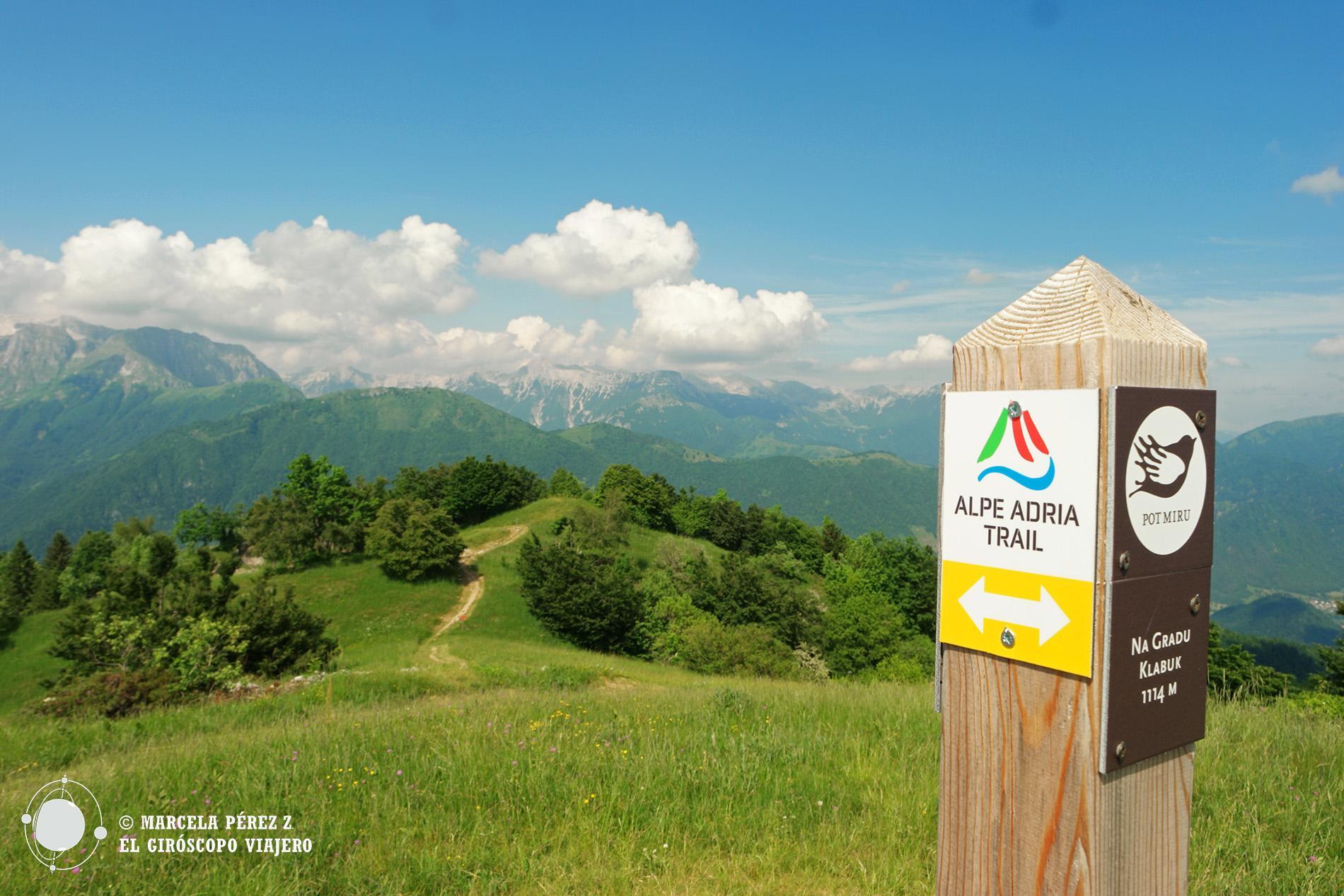 Recorriendo el sendero de la Paz en Eslovenia