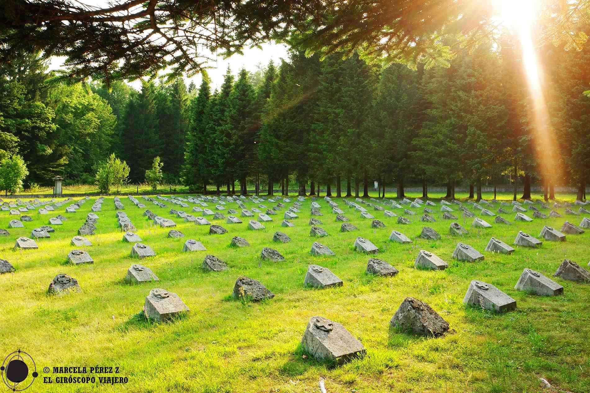 Cementerio austro-húngaro cerca de Ravelnik