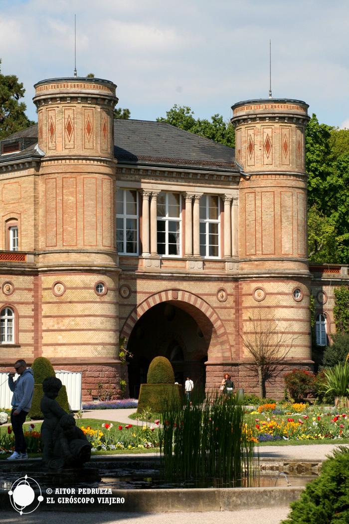 Edificio del Jardín botánico de Karlsruhe