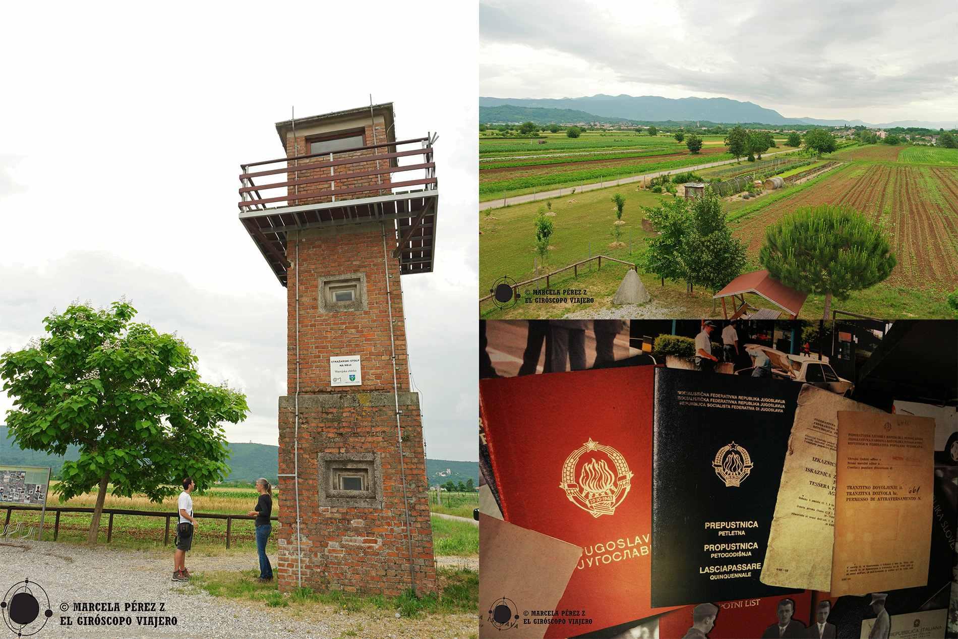 La torre-museo a las afueras de Miren