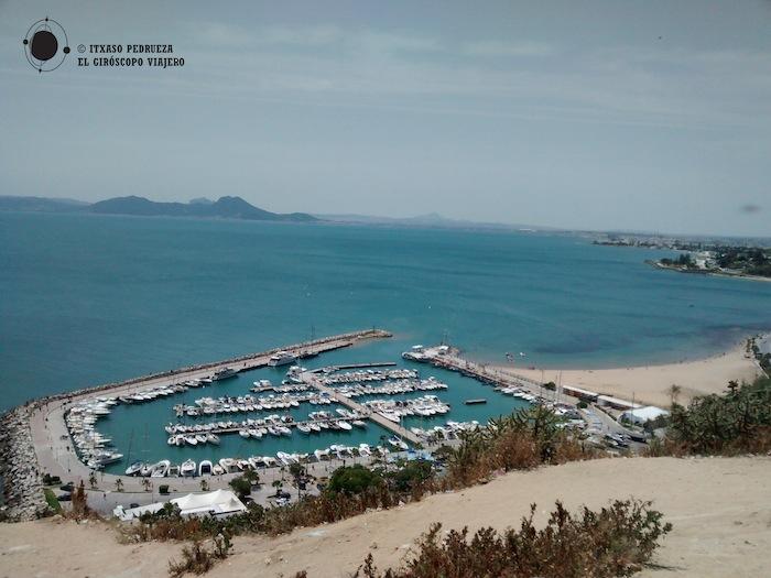 La Marina de La Goulette, lugar de atraque de ferrys y embarcaciones de recreo