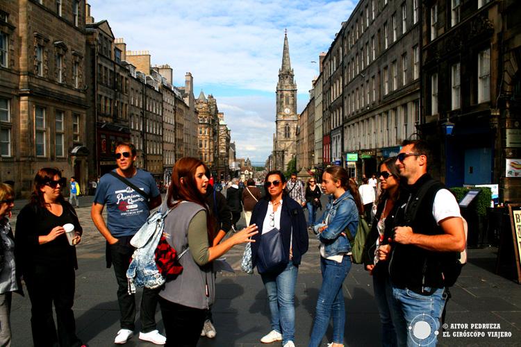 Guía de la Ruta de los fantasmas de Edimburgo