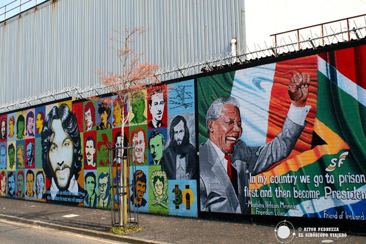 Murales internacionales en Dive Street