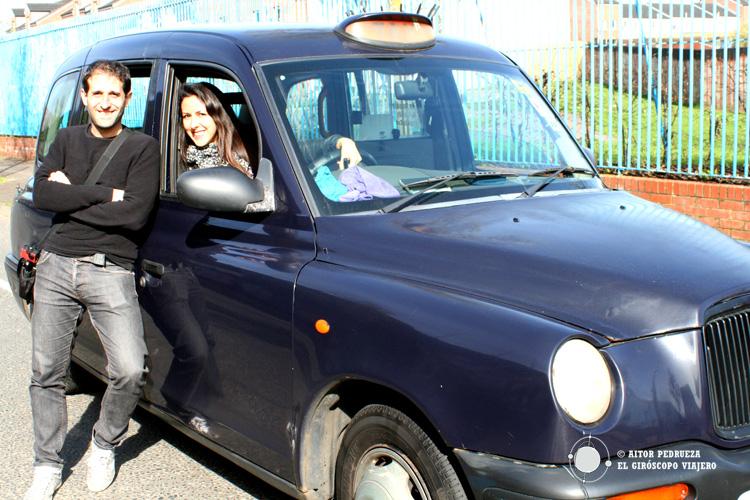 Montados en Black taxi de Billy