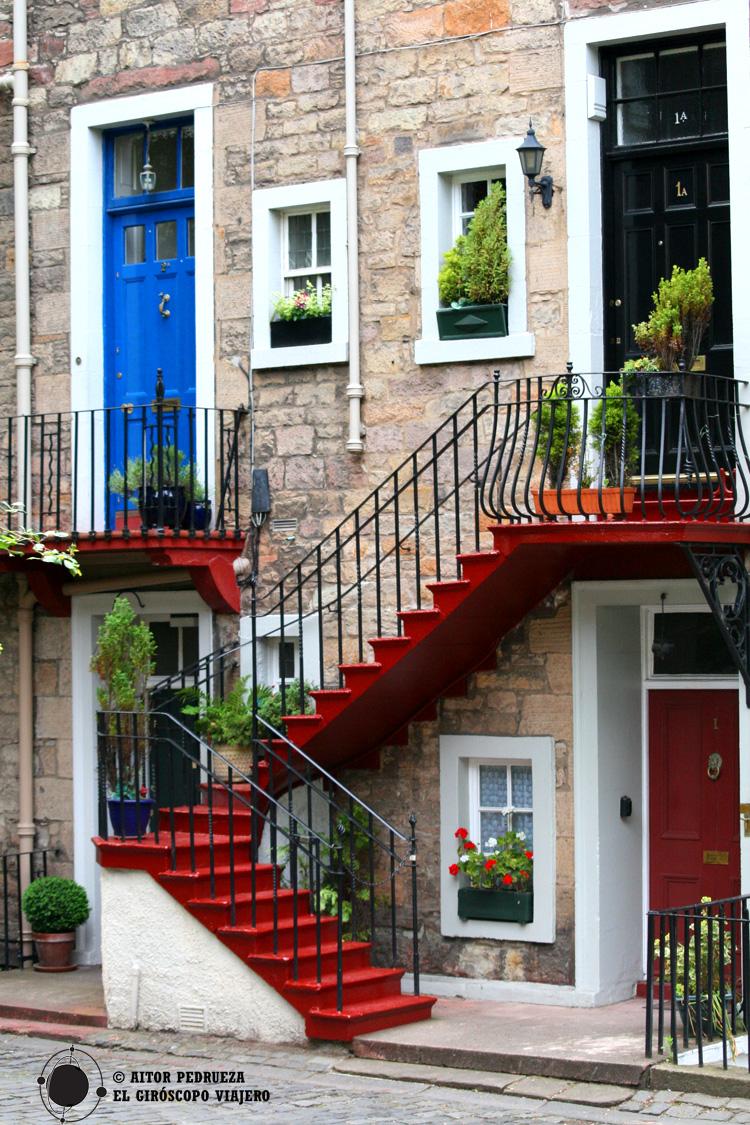 Casas en el centro de Edimburgo